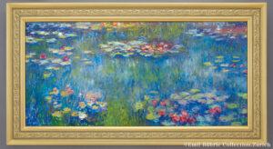 クロード・モネ『睡蓮の池、緑の反映』