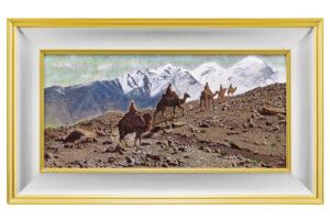 【文化勲章受章】平山郁夫『絲綢の路 パミール高原を行く』